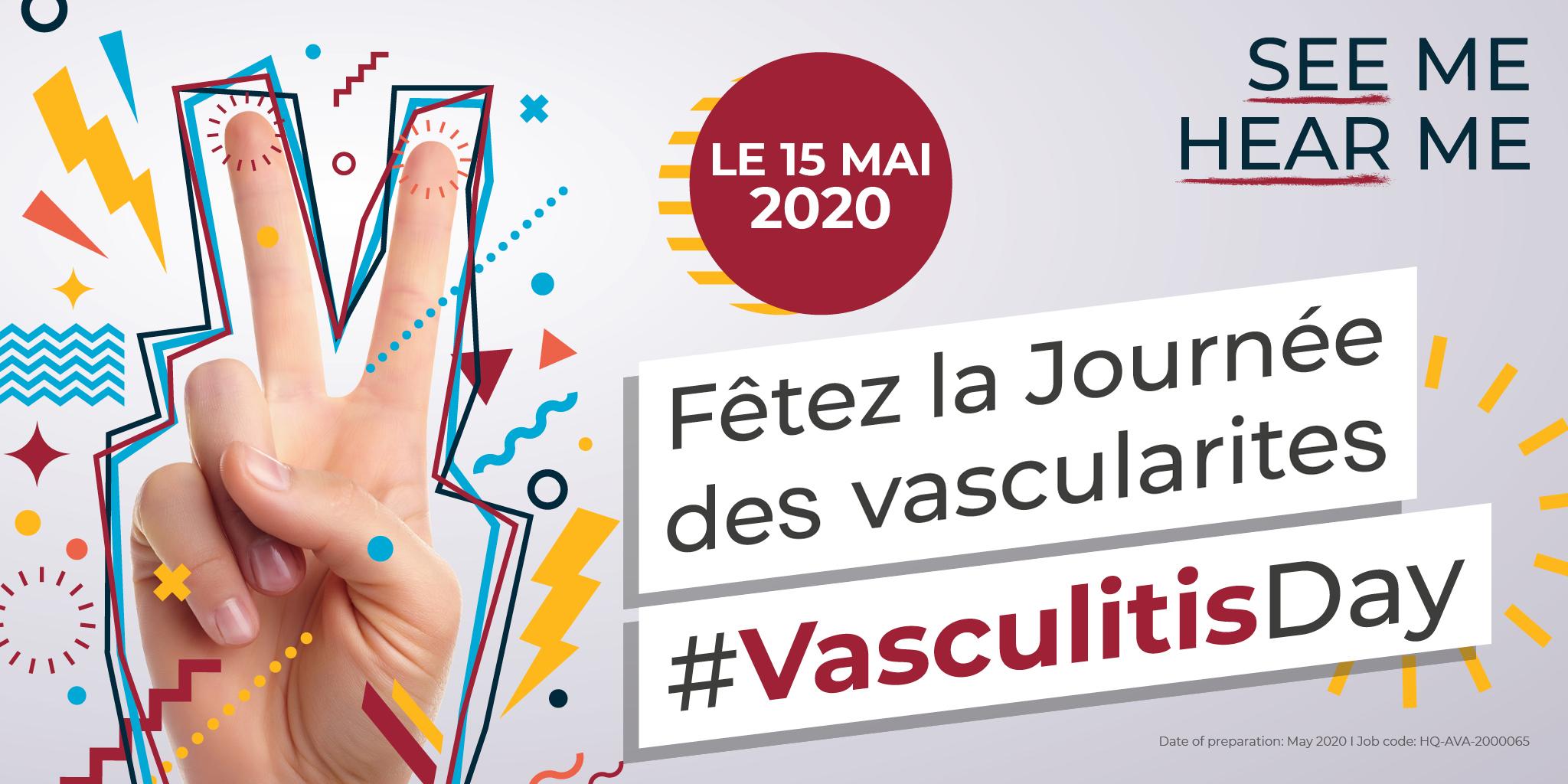 107781 Vasculitis Day 2020 FR Twitter v1 MF Post 1